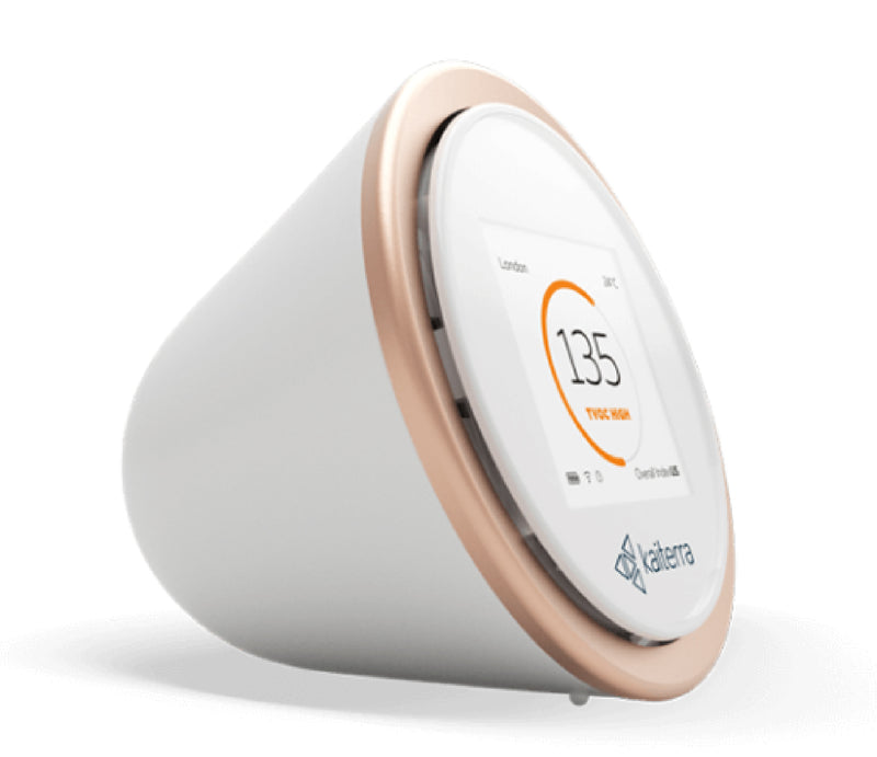 Kaiterra Laser Egg 2+ (High accuracy air quality monitor to track smog and harmful chemicals)