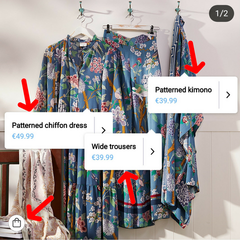 Instagram Product Tagging