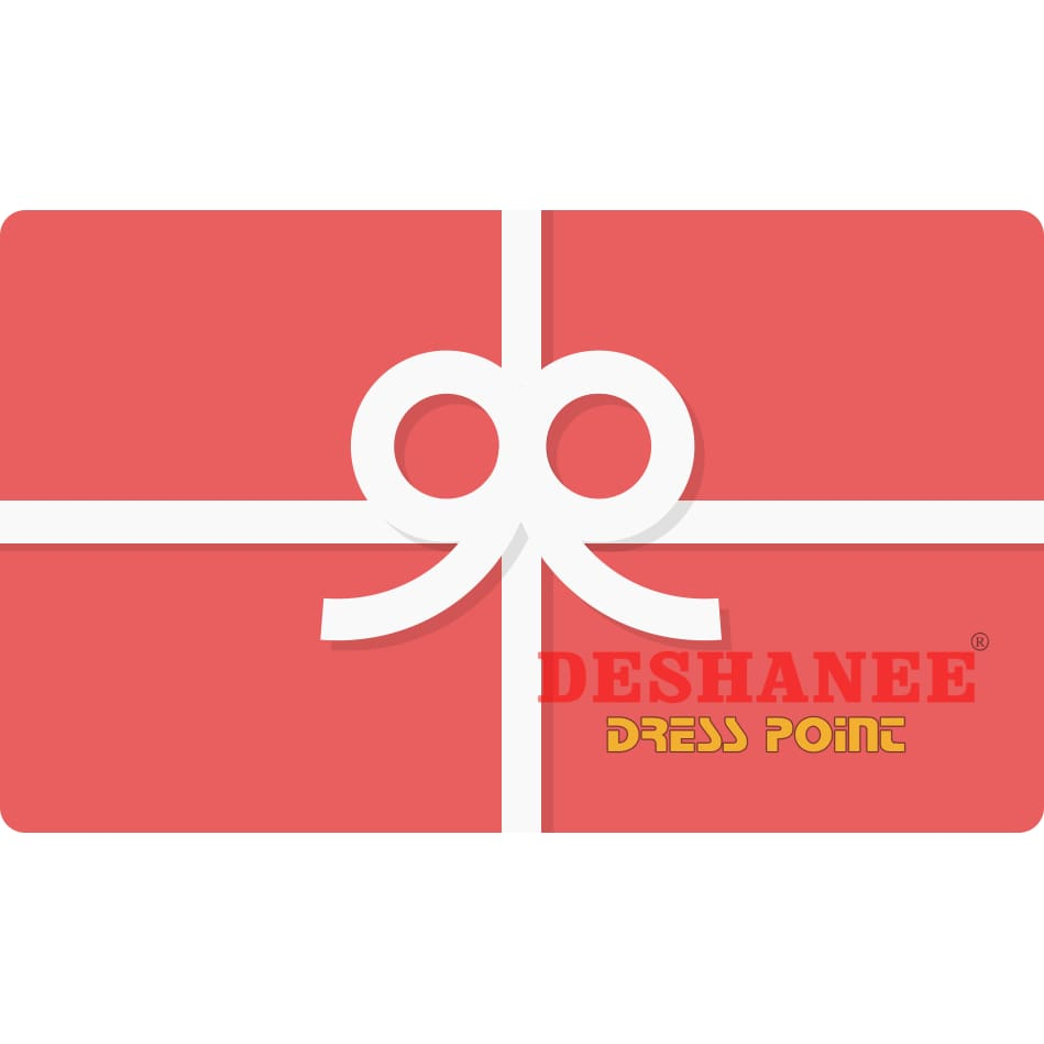 Deshanee Dress Point Gift Cards - Gift Card Birthday Gift Gift Gift Cards Gift Vouchers Valentine Day Gift Free Shipping Deshanee Dress