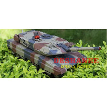 (Shop International) 1:24 Large Scale Remote Radio Control Rc Battle Tank - Light Green - Toys Action Toys Army Green Army Style Boys