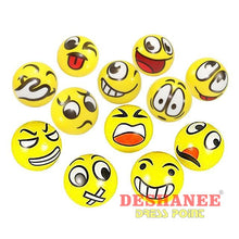 (Shop International) 12Pcs/lot Funny Emoji Faces Squeeze Ball - As Picture - Toys Balls Boys Funny Toys Gift Girls Free Shipping Deshanee