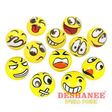 (Shop International) 12Pcs/lot Funny Emoji Faces Squeeze Ball - Toys Balls Boys Funny Toys Gift Girls Free Shipping Deshanee Dress Point