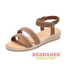 (Shop International) 15 Colors Flat Women Beach Sandals - Shoes 05 05 (Shoes) 06 06 (Shoes) 07 Free Shipping Deshanee Dress Point