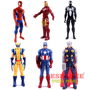 (Shop International) 1Pc 12 Inches Titan Hero Series Figures Pvc Toys - Toys Avengers Black Blue Boys Dolls Free Shipping Deshanee Dress