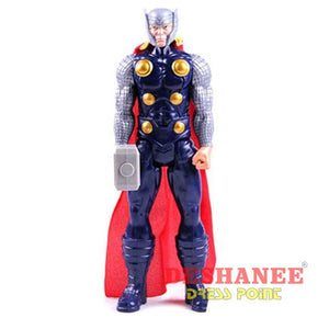 (Shop International) 1Pc 12 Inches Titan Hero Series Figures Pvc Toys - Opp Pack 5 - Toys Avengers Black Blue Boys Dolls Free Shipping