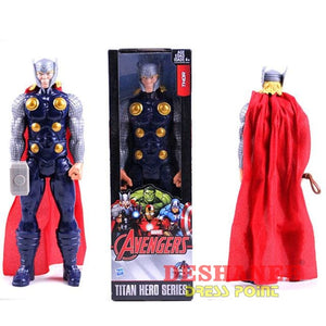 (Shop International) 1Pc 12 Inches Titan Hero Series Figures Pvc Toys - With Box 3 - Toys Avengers Black Blue Boys Dolls Free Shipping