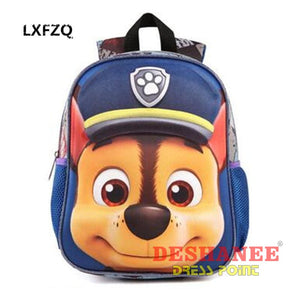 (Shop International) 3D Backpack School Bags - Bags Bags Blue Boys Cartoon Girls Free Shipping Deshanee Dress Point 3D-Backpack-School-Bags