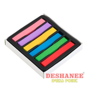 (Shop International) 6 Colors/set Fashionable Hair Color Chalk - Beauty Beauty Blue Color Chalk Deeppink Dodgerblue Free Shipping Deshanee