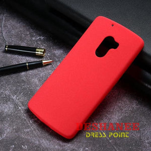 (Shop International) Akabeila Tpu Silicone Phone Cases For Lenovo Vibe X3 Lite - Red / Matte Tpu - Tech Accessories Anti Knock Back Covers