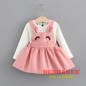 (Shop International) Baby Girls Princess Party Dress - T / 9M - Clothing Dresses 12M 18M 24M 3M 6M Free Shipping Deshanee Dress Point