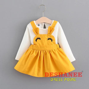 (Shop International) Baby Girls Princess Party Dress - Y / 3M - Clothing Dresses 12M 18M 24M 3M 6M Free Shipping Deshanee Dress Point