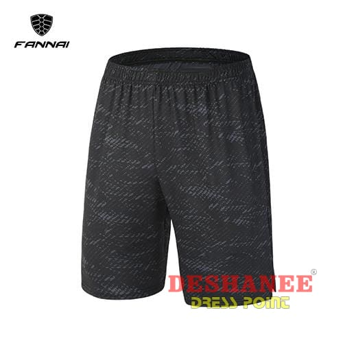 (Shop International) Casual Knee Length Short - Fn03D / M - Clothing Casual Elastic Waist Jogger Knee Length Loose Free Shipping Deshanee