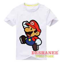 (Shop International) Children New Cartoon Printing Short Sleeves T-Shirt - Type2 White / 24M - Clothing Tops 10T 11T 18M 24M 3T Free