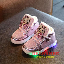 (Shop International) Childrens Casual Led Shoes - Pink / 11 - Shoes 07 07 (Shoes) 08 08 (Shoes) 09 Free Shipping Deshanee Dress Point