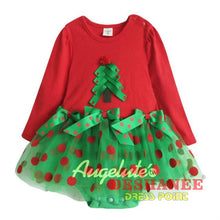 (Shop International) Christmas Baby Girl Rompers Long Sleeved Infant Set - Red / 3M - Clothing Dresses 12M 18M 24M 3M 6M Free Shipping