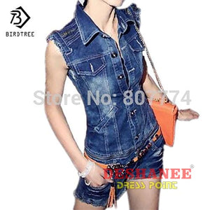 (Shop International) Denim Overall Casual Romper - Clothing Dresses Blue Casual Denim Jumpsuits L Free Shipping Deshanee Dress Point