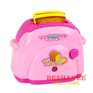 (Shop International) Educational Mini Household Appliances Girls Toys - Bread Machine - Toys Educational Toys Plastic Toys Free Shipping