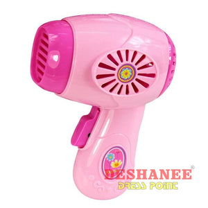 (Shop International) Educational Mini Household Appliances Girls Toys - Hair Dryer - Toys Educational Toys Plastic Toys Free Shipping