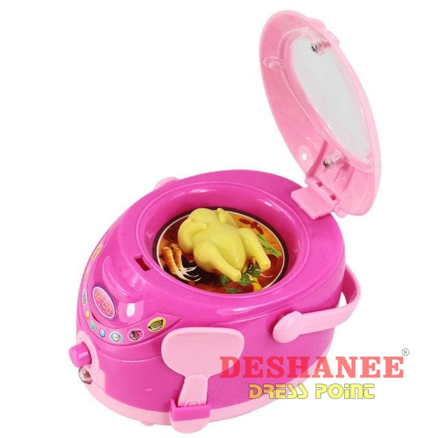 (Shop International) Educational Mini Household Appliances Girls Toys - Rice Cooker - Toys Educational Toys Plastic Toys Free Shipping
