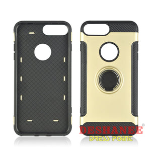 (Shop International) Iphone X 8 7 6S 6 Plus 360 Rotate Hard Pc Phone Cover - Iphone6/6Splus-Gold - Tech Accessories Best Case Best Iphone 6