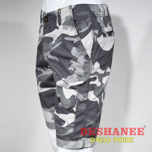 (Shop Sri Lanka) Camouflage Cargo Pockets Mens Short - Sri Lanka Clothing Bottoms 28 30 32 34 36 Free Shipping Deshanee Dress Point