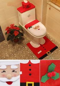Premium Christmas Toilet Seat Cover
