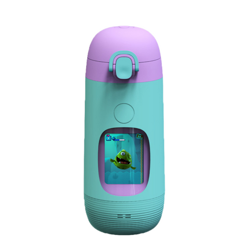 Gululu Go, Interactive Water Bottle - Parrot Green