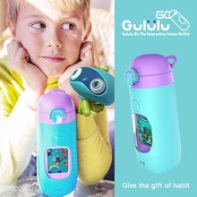 Load image into Gallery viewer, Gululu Go - Flamingo Pink - Gululu_Interactive_water_bottle