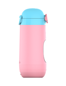 Gululu Go - Flamingo Pink - Gululu_Interactive_water_bottle
