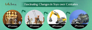 Fascinating Changes in Toys over Centuries