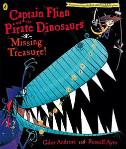 Captain Flinn and the Pirate Dinosaurs the Missing Treasure (Captain Flinn/Priate Dinosaurs)