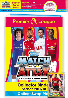 Topps Match Attax -PLMA 17-18 TCG collection Starter game pack