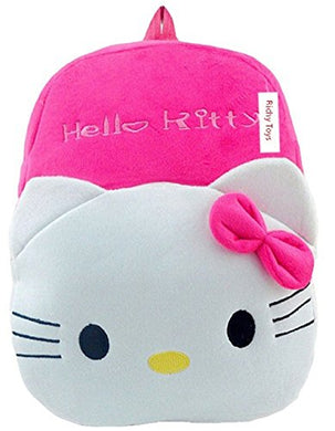 Kids Soft Kitty School Bag Soft Plush Backpack (HT1)