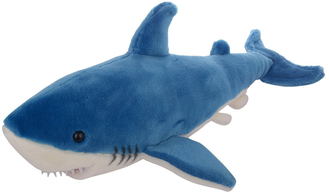 Blue Shark Soft Toy Stuffed Soft Plush Toy For Kids | 38 Cm