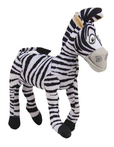 White Madgascar Marty Zebra Stuffed Soft Plush Toy | 15 cm