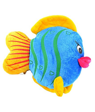 Multicolor Fish Soft Toy (Set Of 4) (6.7 Inch)