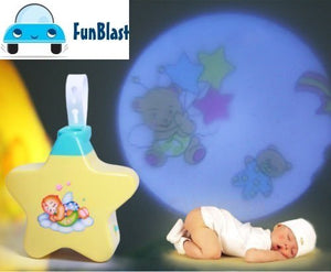 New Born Baby Toy | Baby Star Projector With Star Light Show And Music for Kids