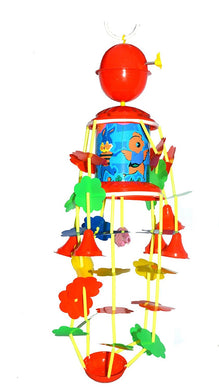 Red Musical Merry Go Round Toy (Joomer) with Soothing Sound for Babies
