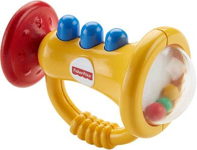 Colorful Trumpet Rattle Toy