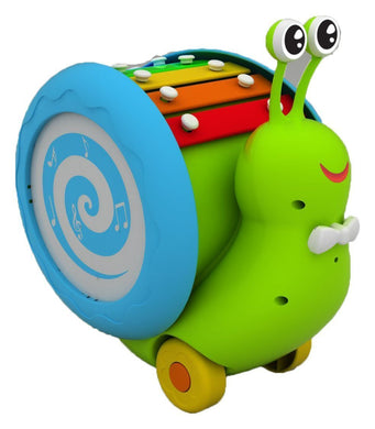 Muticolor Musical Snail Toy