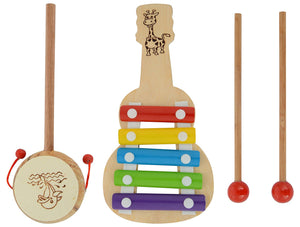 Musical Combo of Xylophone and Drum for Babies