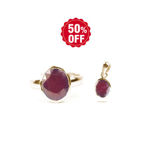 Gemstone Garnet GOLD)