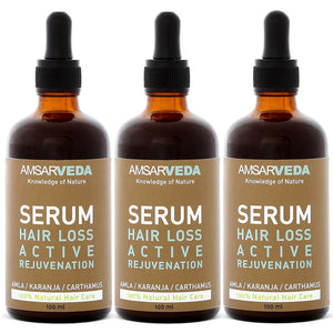 100% Natural Hair Loss Serum - Active Rejuvenation (Pack of 3)