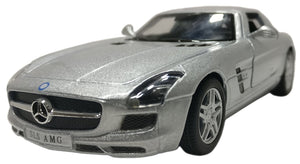 Mercedes Benz SLS AMG 1:36 Scale Diecast Car (Color may very)