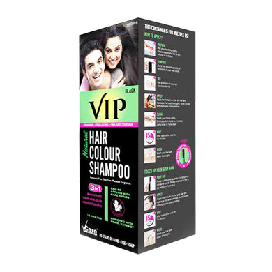 VIP 3 in 1 Hair Color Shampoo (180 ml)