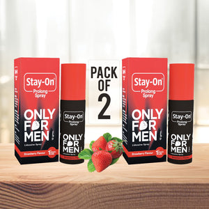 Stay-on Prolong Spray (Pack of 2)