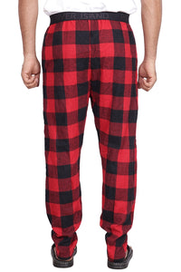 100% Cotton Red and Black Checked Pyjama Sleepwear Night Wear