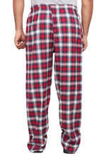 100% Cotton Navy Blue and Red Checked Pyjama Sleepwear Night Wear