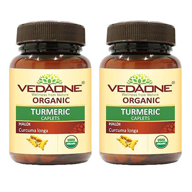 USDA approved Organic Turmeric Caplets