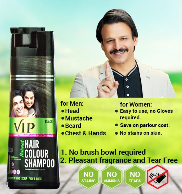 Look Younger Be More Confident Handsome With Vip Hair Colour